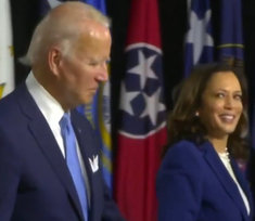 Joe Biden and Kamala Harris at first campaign event since the announce of her selection as VP (cropped).png