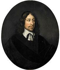 Portret van Johan de Vries (1609-1677)