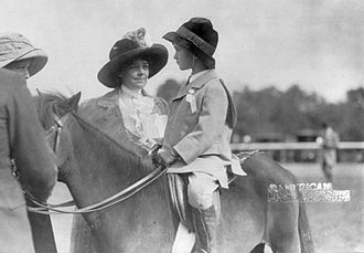 John Hay Whitney - Helen Hay Whitney and her six-year-old son, John Hay Whitney (October 12, 1910)