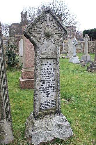 John Beddoe - John Beddoe's grave, Dean Cemetery