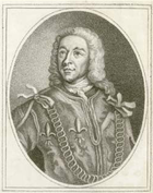 Portrait of John Warburton, the first antiquarian to make explicit mention of Wade's Causeway in a published work