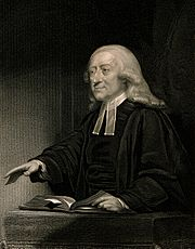 John Wesley. Engraving by J. Thomson after J. Jackson. Wellcome V0006250.jpg