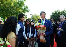 US Sen. John Kerry on PDPU Campus