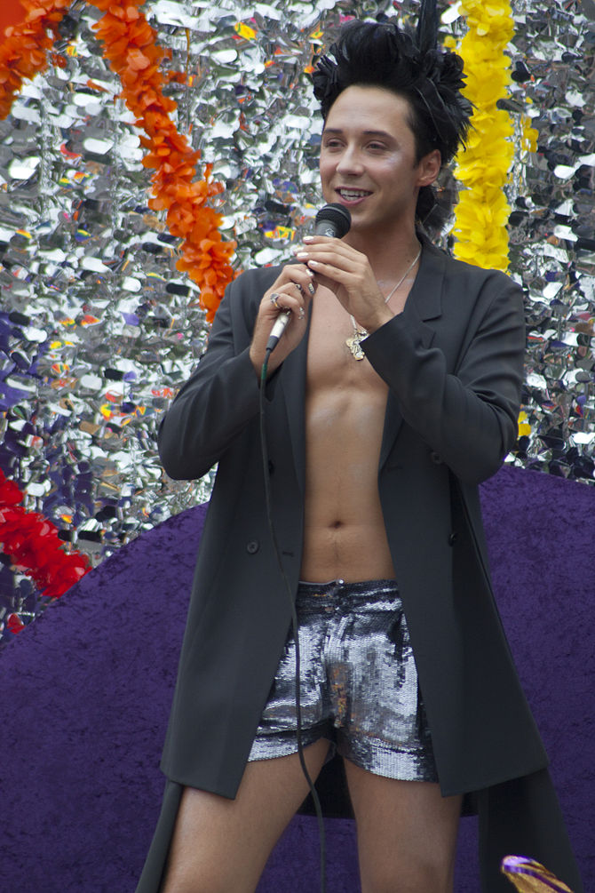 Johnny Weir LA Pride