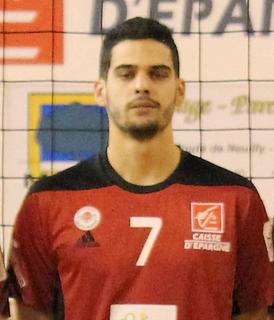 Jonas Aguenier French volleyball player