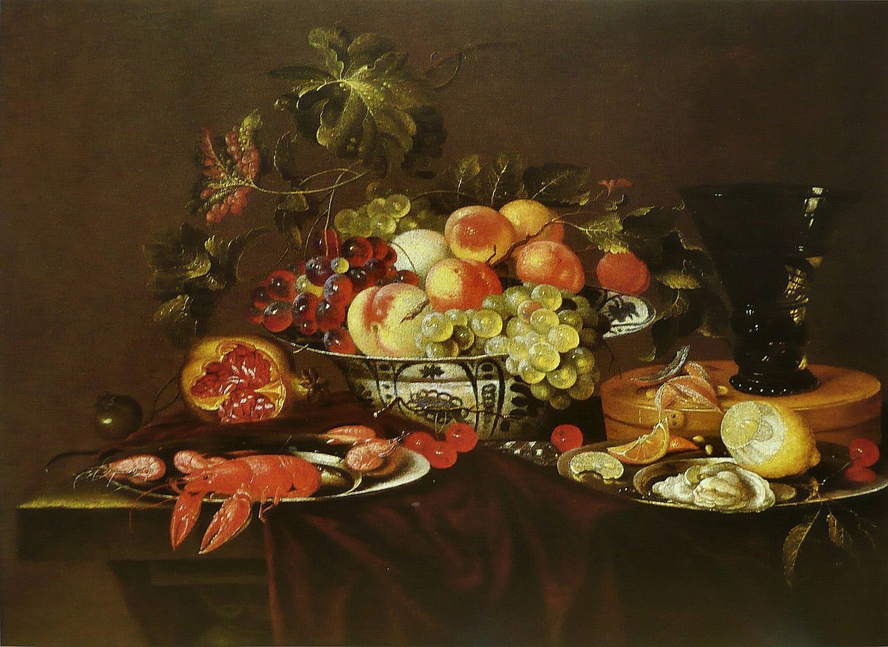 Fruit Oil Paintings On Canvas