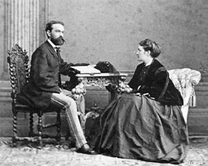 Josef Rheinberger - Josef and Fanny shortly after their marriage