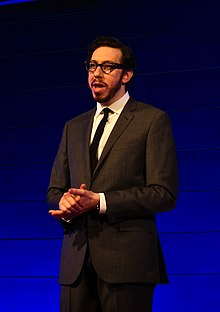 Joshua Topolsky at the Engadget Show in 2010