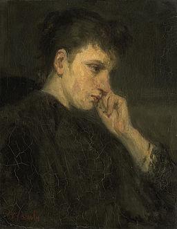 Jozef Israëls - 'Melancholie'