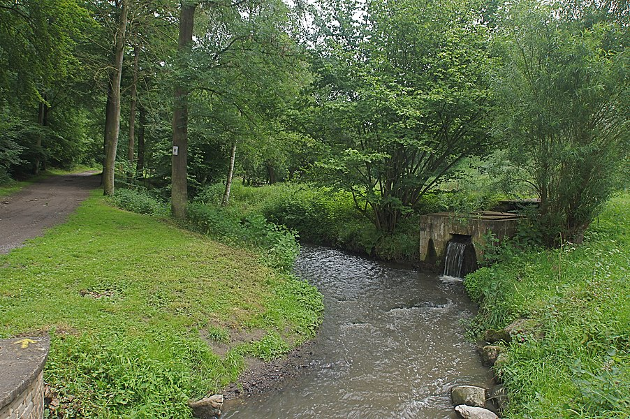 Visé (Argenteau),  Belgium: Sluse on the  Julienne in the Julienne Park
