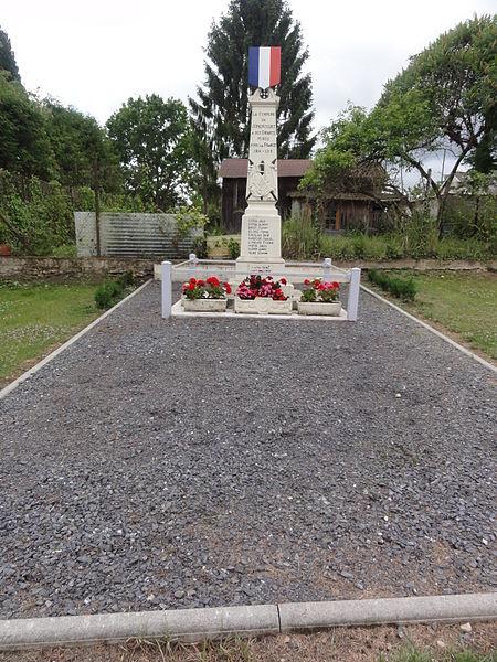 Jumencourt (Aisne) monument aux morts