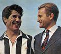 Juventus FC - 1963 - Omar Sívori & Giampiero Boniperti.jpg