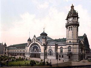 Köln Hauptbahnhof - Köln Hauptbahnhof in 1900