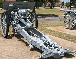 10 cm K 14 - A K 14 at the U.S. Army Field Artillery Museum, Ft. Sill, OK