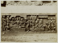 KITLV 27988 - Kassian Céphas - Relief of the hidden base of Borobudur - 1890-1891.tif
