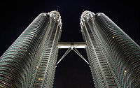 Die Petronas Towers in KL