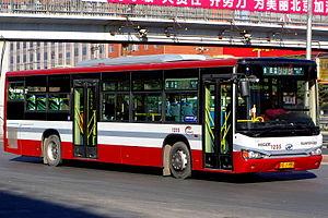 Beijing Bus - Yuntong (运通) Bus 115.
