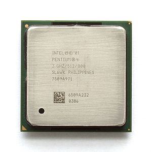 Hyper-threading - Image: KL Intel Pentium 4 Northwood