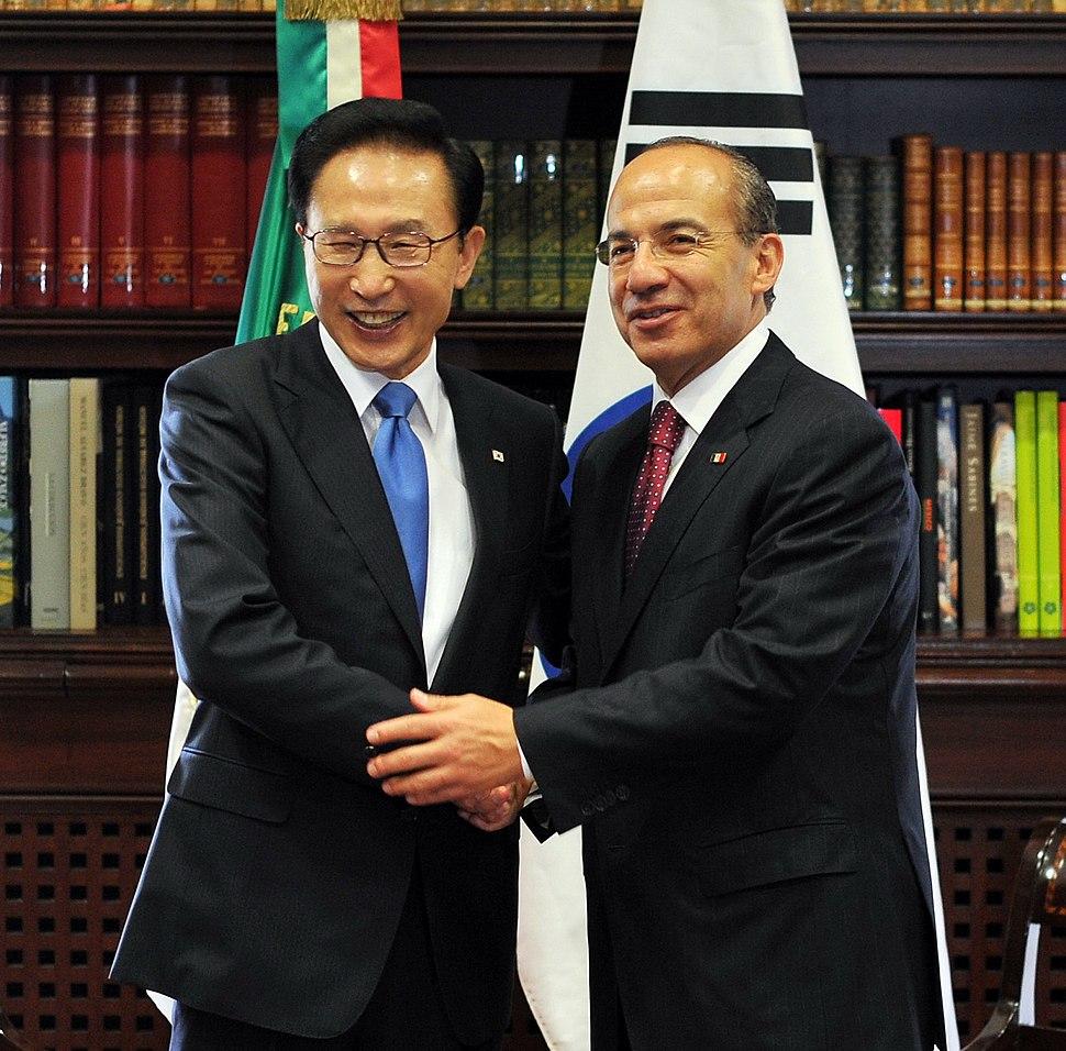 KOCIS Korea-Mexico summit (4762596485)