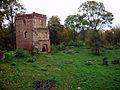 Kaliningrad oblast Kurortnoe (Gross-Wonsdorf) abandoned castle.JPG
