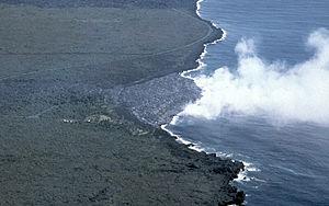 Lava delta - Image: Kamoamoa Lava Delta