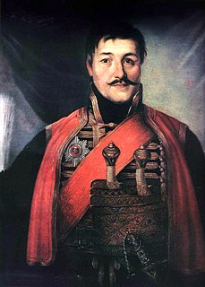 Karađorđe Grand Vožd of Serbia and revolutionary