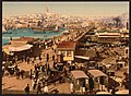 Kara-Keui (Galata) and view of Pera, Constantinople, Turkey-LCCN2001699427.jpg