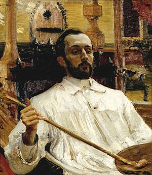 Dmitry Kardovsky - Dmitry Kardovsky. Portrait by Ilya Repin