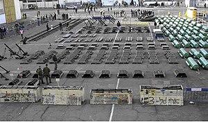 "Karine A affair - Military equipment confiscated from MV ""Karine A"""