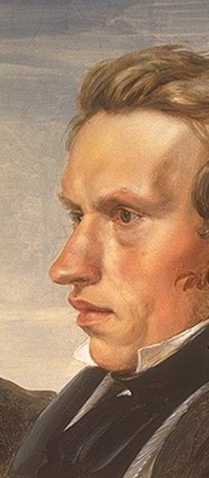 Karl Ferdinand Sohn - Karl Ferdinand Sohn, from a group portrait by Julius Hübner