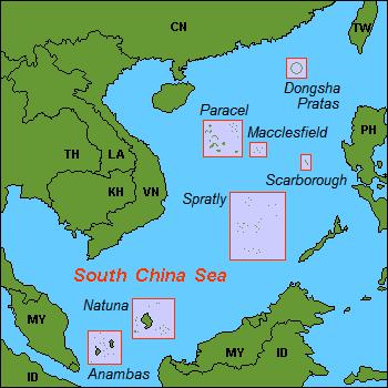 Karta CN SouthChinaSea