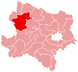 Bezirk Zwettl location map