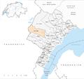 Karte Gemeinde Saint-Cergue 2014.png
