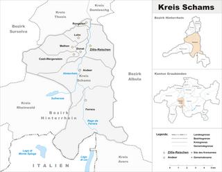 Schams (Kreis) Sub-district in Switzerland