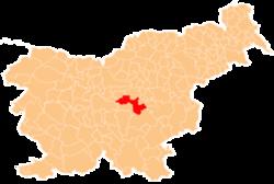 Vị trí của Litija ở Slovenia