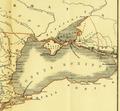 Karte aus dem Buch Römische Provinzen von Theodor Mommsen 1921 16a.png