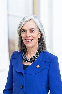 Katherine Clark, official portrait, 116th Congress.jpg
