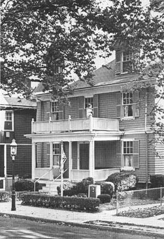 John Fitzgerald Kennedy National Historic Site - The house in 1974.
