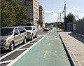 Kent Av Bkln bike lane jeh.JPG