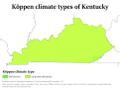 Kentucky Köppen.png
