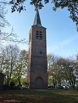 Kerktoren van der Brugghenstraat 43 Stiphout Monument 21455.jpg