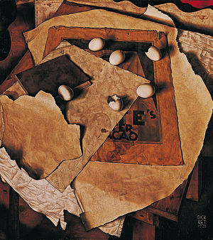 Dick Ket - Still-life with Eggs