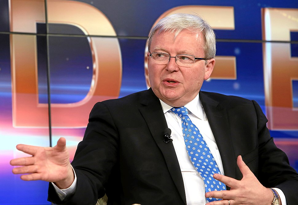 Kevin Rudd World Economic Forum 2013