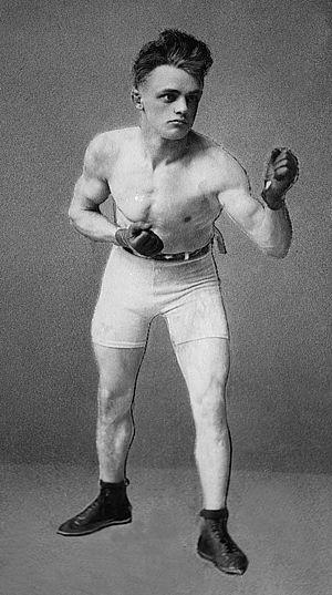 Johnny Coulon - Kid Williams, World Bantamweight Champion Contender