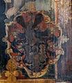 Kiedrich Pfarrkirche Epitaph Walburga Koeth von Wanscheid 1566 Wappen.jpg