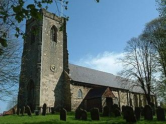 Kilham, East Riding of Yorkshire - Image: Kilham church