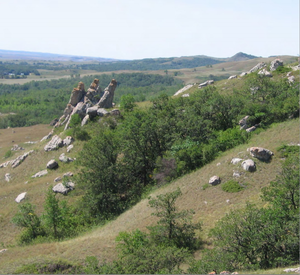 Battle of Killdeer Mountain - Killdeer Mountain battlefield