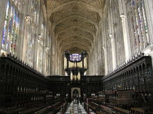 Chapel of King's College, Cambridge