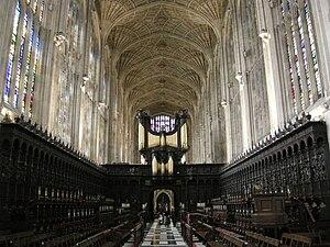 Chapel of King's College, Cambridge