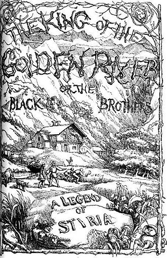 The King of the Golden River - Title page, designed by Richard Doyle
